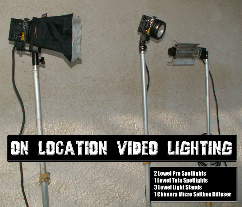 Electronic Field Production Lighting