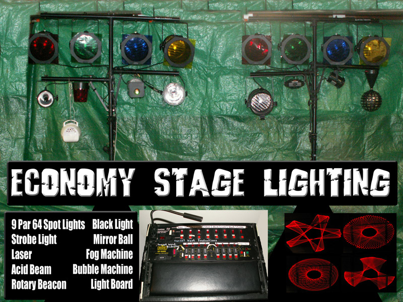Economy Stage Lighting Package